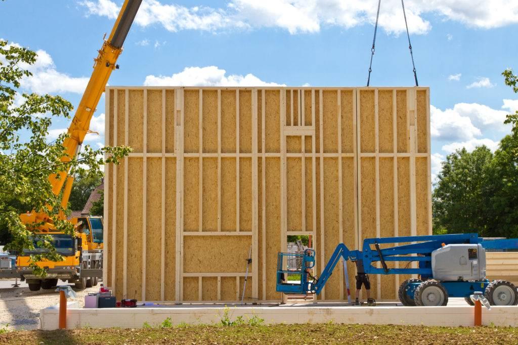 prefabrication bois préfabrication