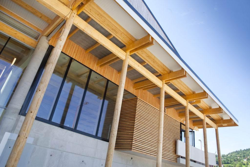 bâtiment structure bois pefc