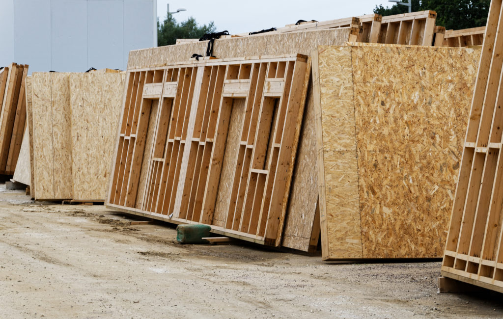 murs ossatures bois préfabriqués
