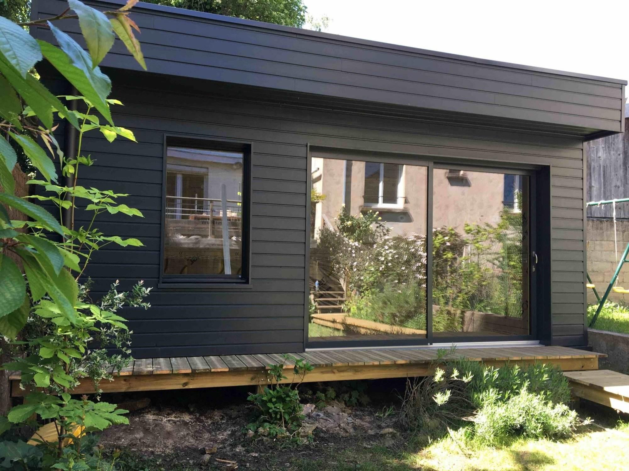 Studio de jardin en bois - construction bois